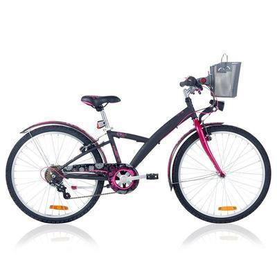Poply 500 Children's 24_QUOTE_ Bike - Black