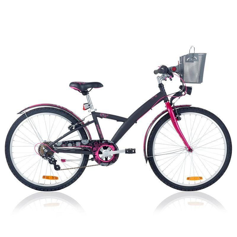 Poply 500 Children's 24_QUOTE_ Bike - Black