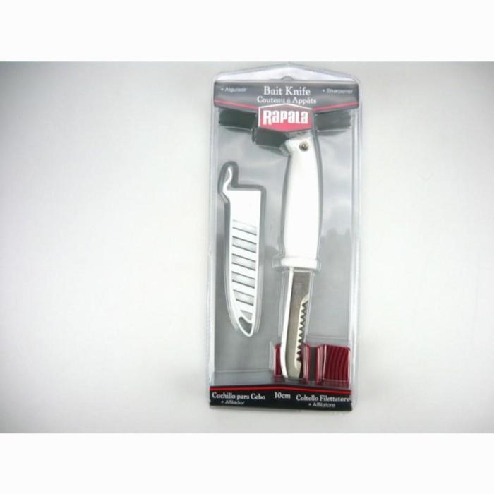 Cuchillos para cebos+afilador