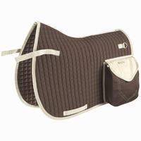 Trail horseback riding saddle pad