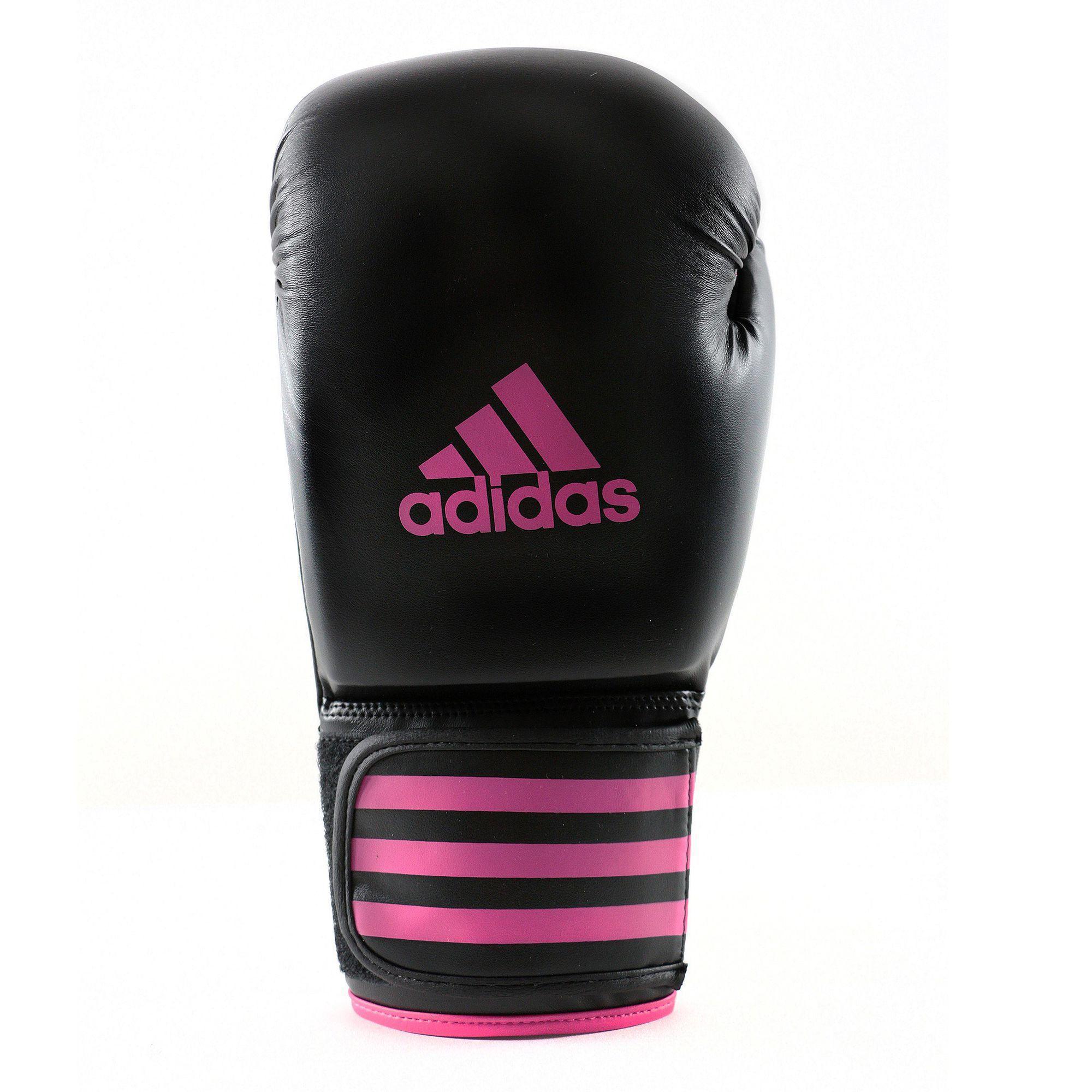 Bokshandschoenen FPower 200 zwart-roze