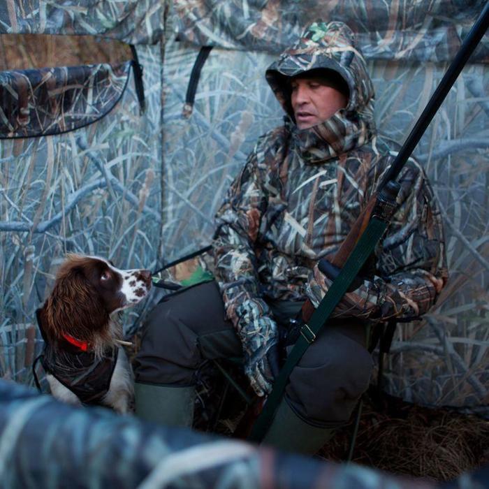 Siège pliant chasse camouflage marais - 833356