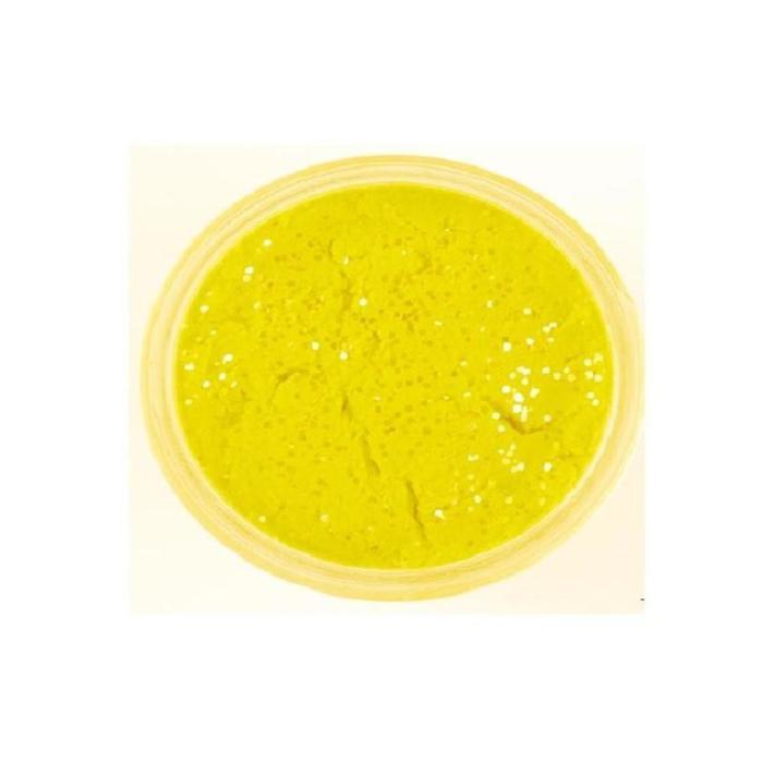 Forellenteig sonnengelb mit Glitzerteilchen 50 g