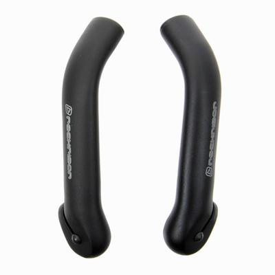 Curved Bar Ends - Black