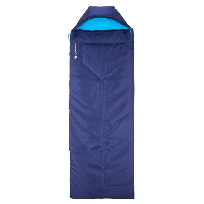 Schlafsack Camping Forclaz 10°C rechts blau
