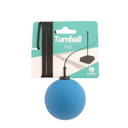 """Balle de Speedball """"TURNBALL FAST BALL"""" Caoutchouc Jaune"""