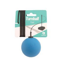 """Pelota de speedball """"TURNBALL FAST BALL"""" caucho azul"""