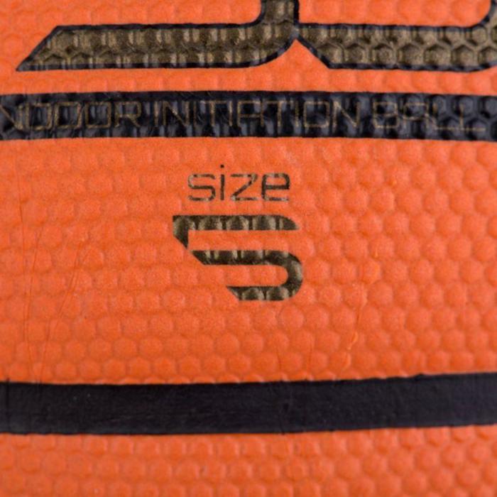 Ballon de basket enfant B300 taille 5 orange. Pour débuter. Jusqu'à 10 ans. - 834027