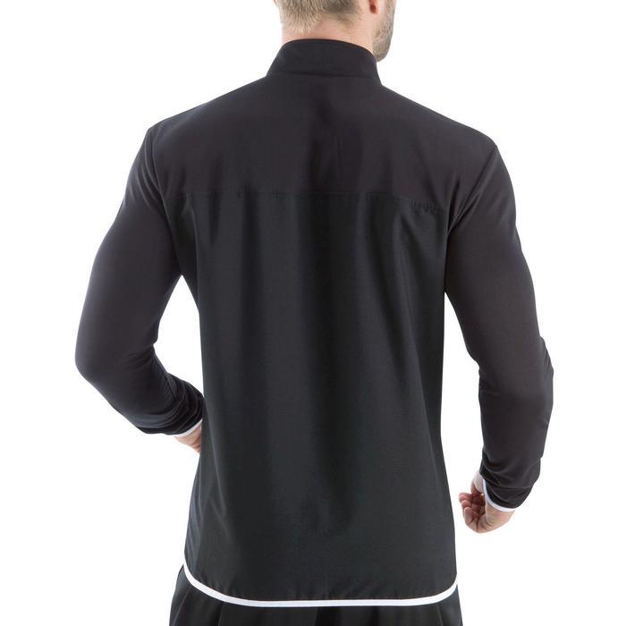 Veste d'entraînement de football adulte T100 noire - 834035