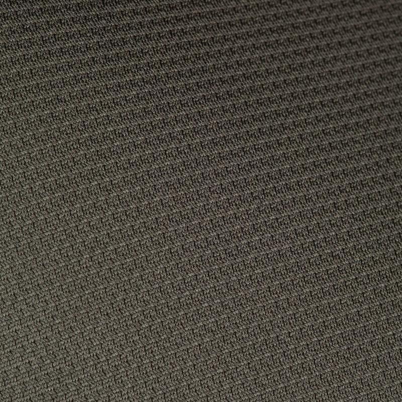 เสื้อยืดแขนสั้นระบายอากาศได้ดีสำหรับการส่องสัตว์รุ่น 100 (สีเขียว)