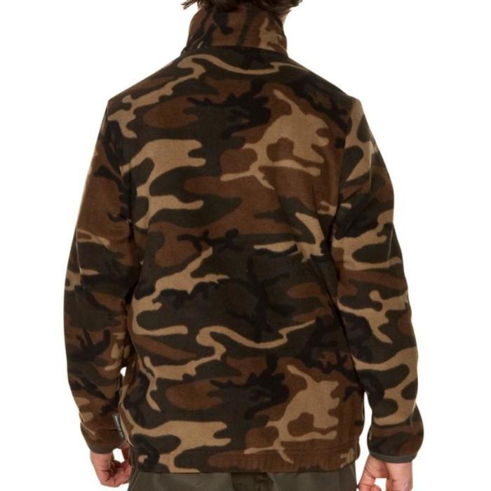 Polaire chasse junior verte - 834500
