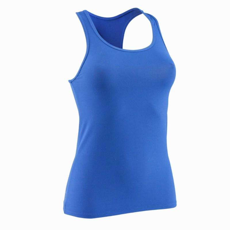 WOMAN FITNESS ENERGY APPAREL Clothing - MY TOP gym tank top DOMYOS - Tops