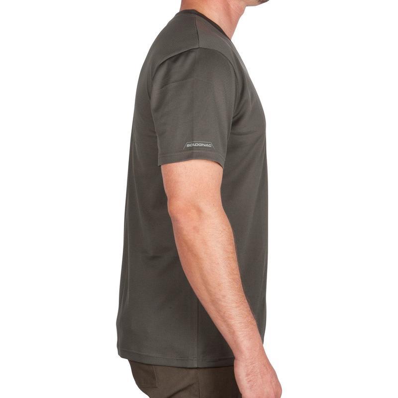 Men's Breathable T-Shirt 100 Green
