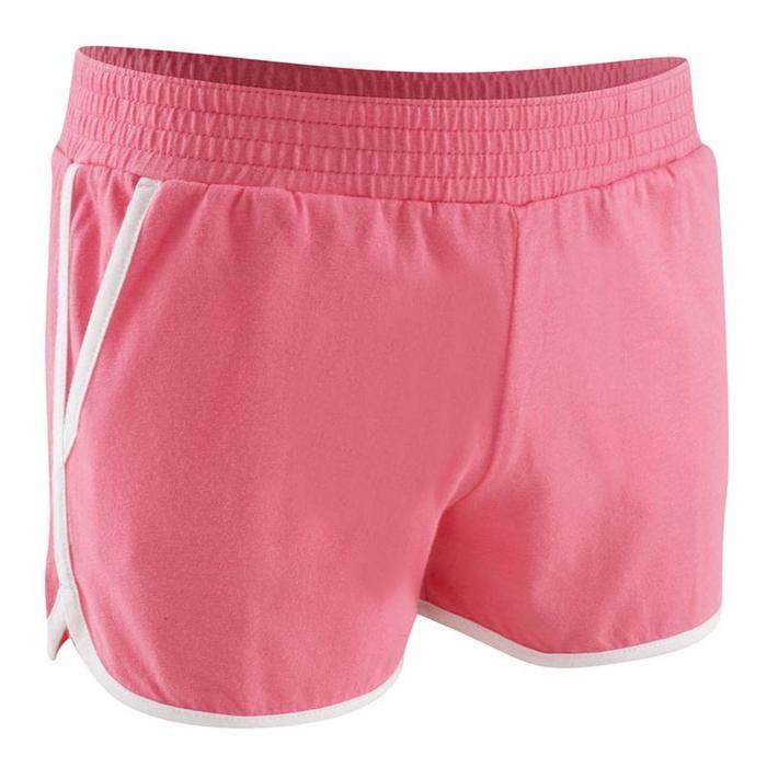 Short niña Athletic rosa