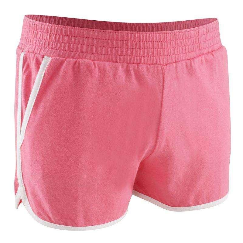 KLÄDER FÖR GYMPA JUNIOR Pilates - Athletic shorts rosa DOMYOS - Fitness, Gym, Dans 17