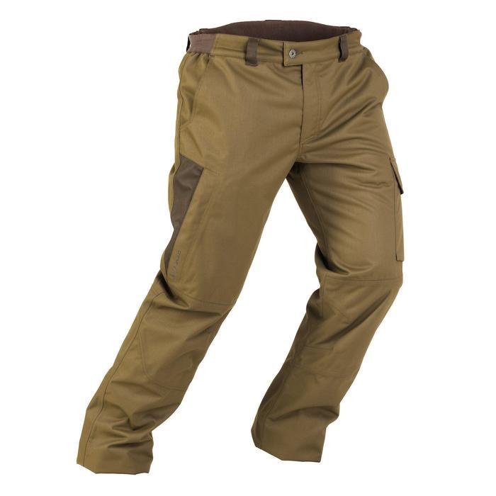 Pantalon chasse imperméable chaud 500 - 834670
