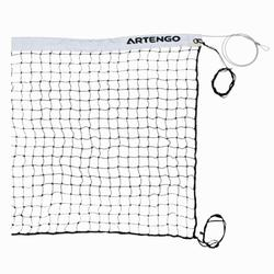 Beach tennis net zwart