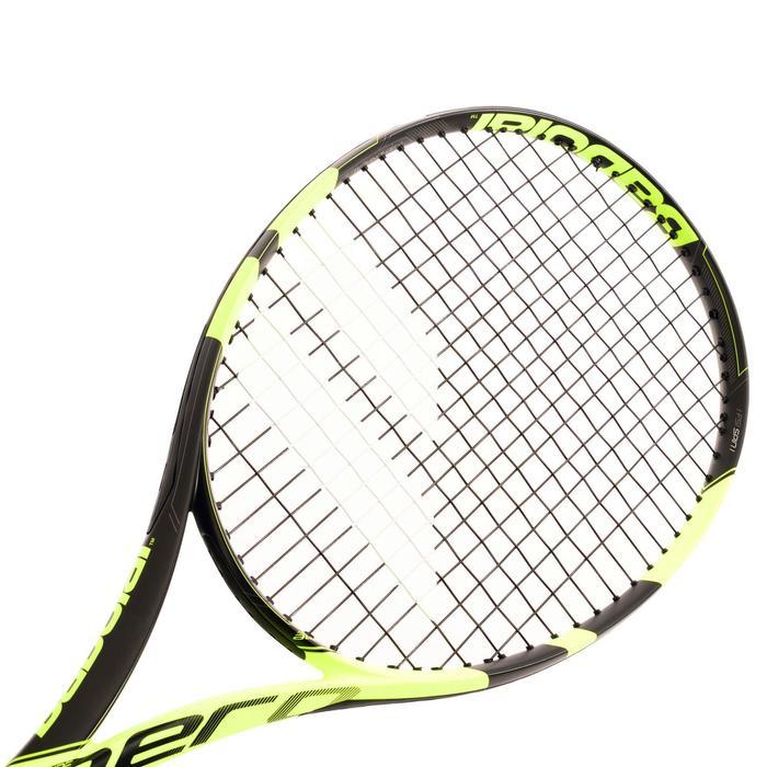 Tennisracket voor volwassenen Pure Aero zwart/geel - 834824