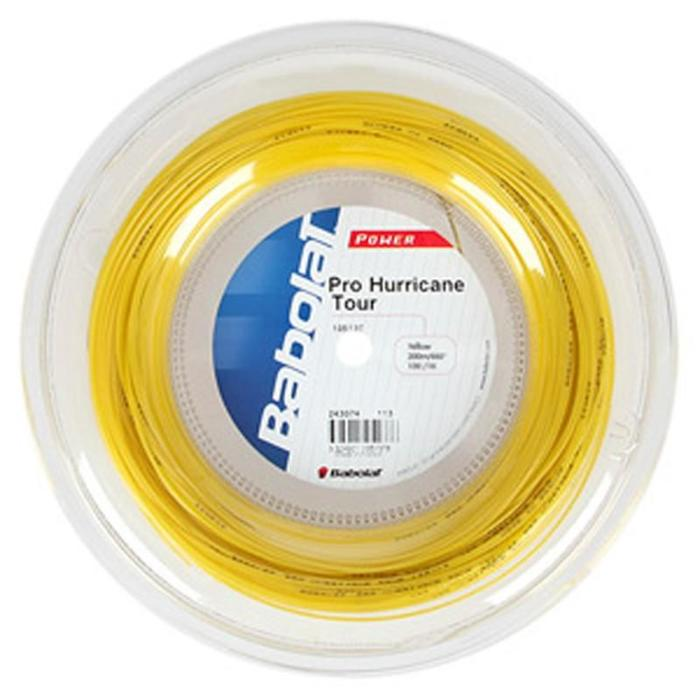 CORDAGE DE TENNIS MONOFILAMENT PRO HURRICANE TOUR 1.25mm 200m - 834895