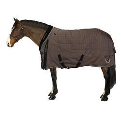 Couverture d'écurie équitation STABLE 400 marron - poney et cheval
