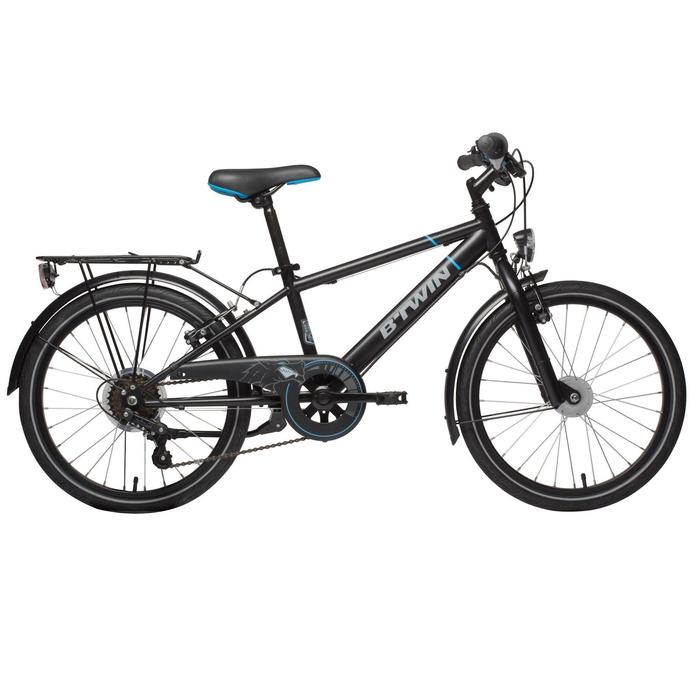 "Kinderfahrrad City Bike 20"" Racing Boy 540 Kinder schwarz/blau"