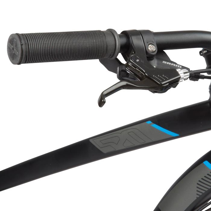 """Mountainbike MTB 27,5"""" Rockrider 520 schwarz"""