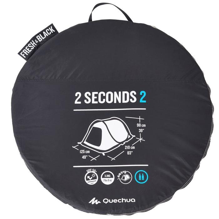 Tente de camping 2 SECONDS 2 FRESH&BLACK | 2 personnes blanche - 835183