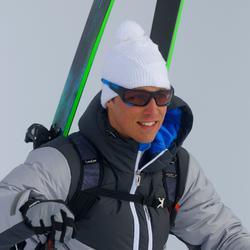 Skibril Skiing 900 volwassenen, zwart en blauw, verwisselbare lenzen cat. 4+2 - 835272