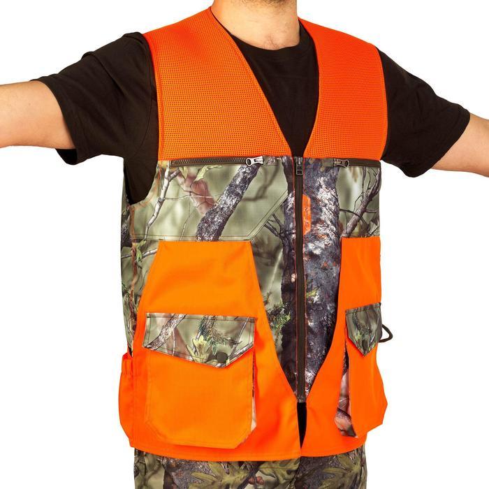 Vest Renfort 500 voor de jacht fluo camo - 835420
