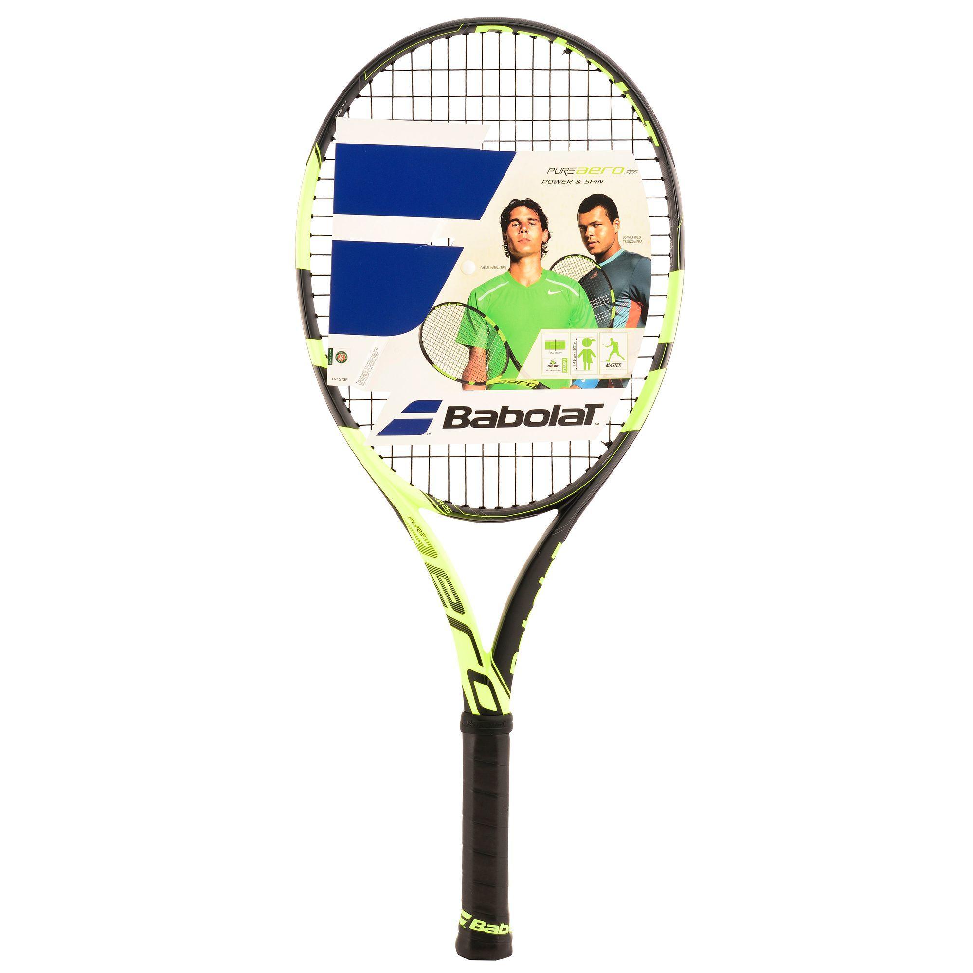 Babolat Tennisracket kinderen Pure Aero 25 inch zwart/geel