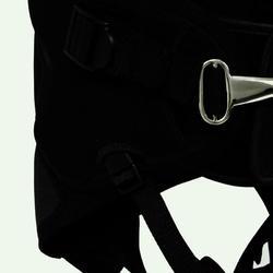Trapezegordel voor zeilen volwassenen zwart/grijs - 835833