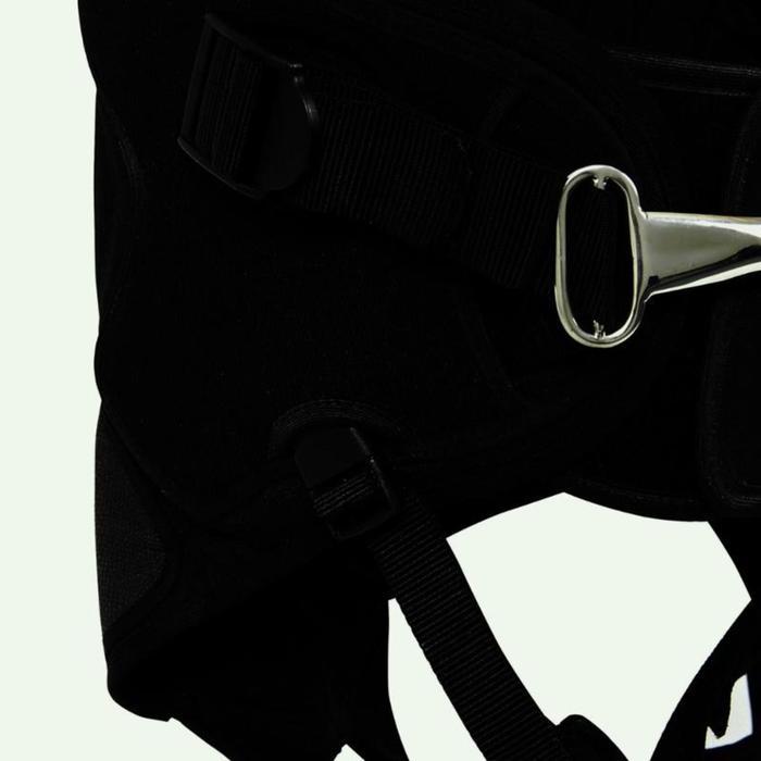 Ceinture de trapèze Voile Dinghy 500 noir/gris