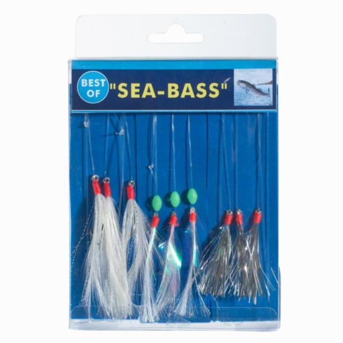 Bas de ligne BEST OF Bar x3 pêche en mer