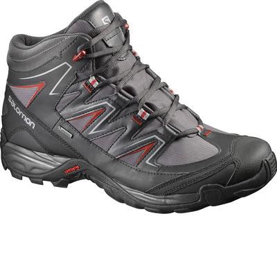 design de qualité 5ef74 2c3dc Chaussures de randonnée tige haute homme Salomon Skogar imperméable noir