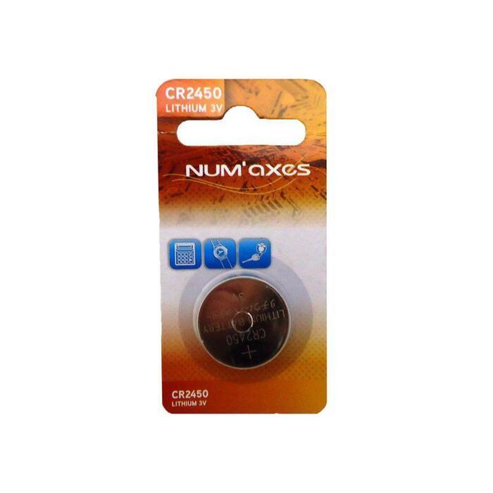 Pila Litio Numaxes CR 2450 Compatible Mando Canicom 5 201