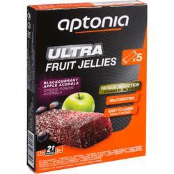 Jellybar Ultra zwarte bes appel 5 x 25 g