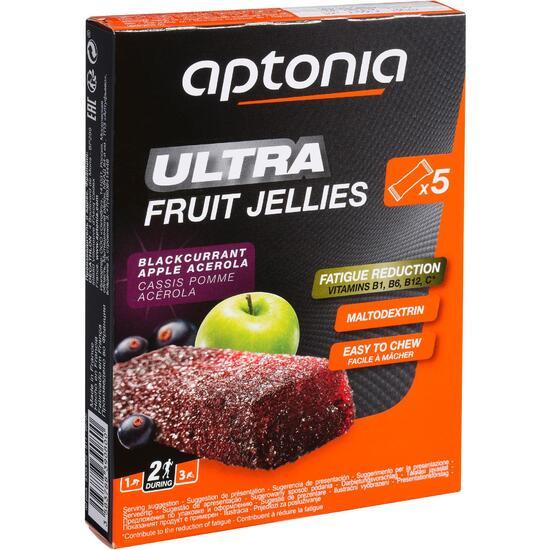 Jellybar Ultra zwarte bes appel 5 x 25 g - 836418