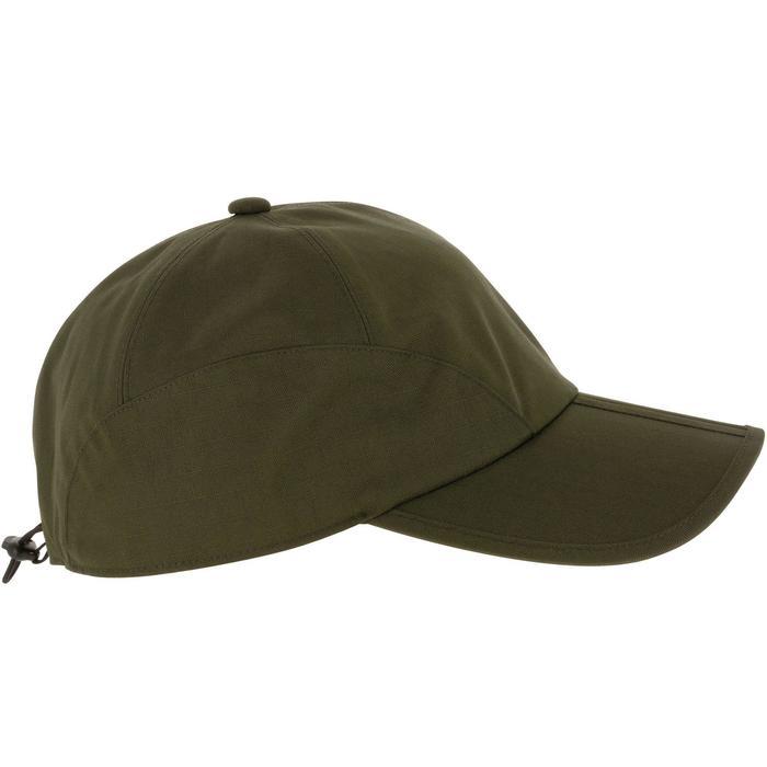 Casquette chasse imperméable pliante vert - 836486
