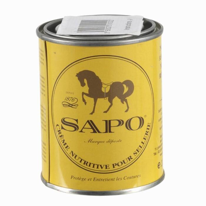 Voedend ledervet voor paardrijleer 200 ml