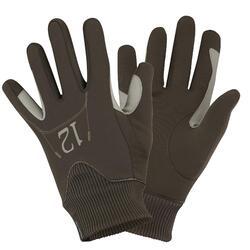 Warme rijhandschoenen Easywear voor kinderen - 836589