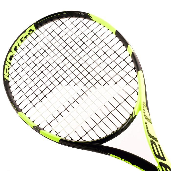 Tennisracket voor volwassenen Pure Aero zwart/geel - 836750