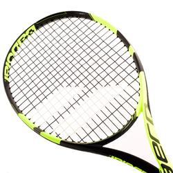 Tennisracket voor volwassenen Pure Aero zwart/geel