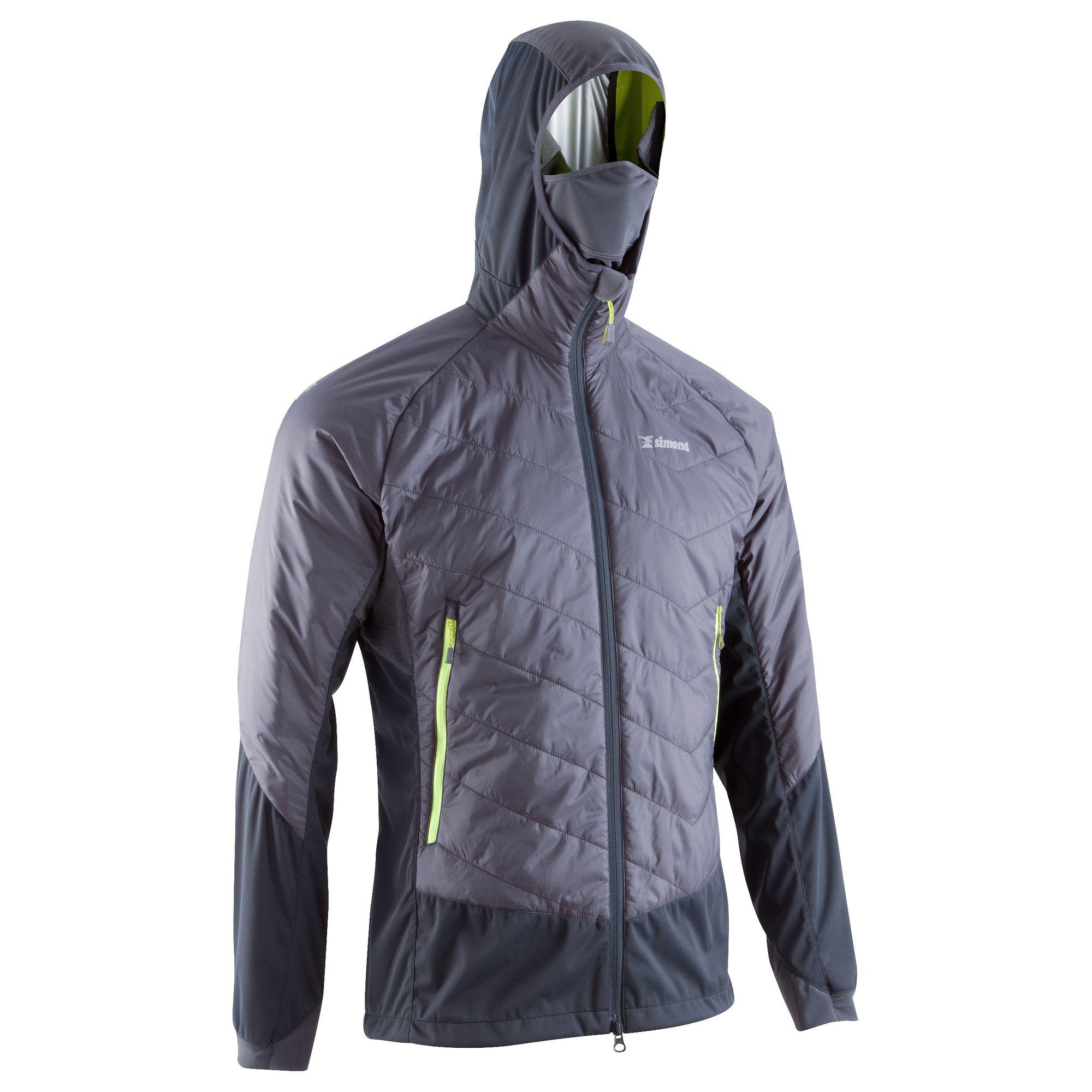Sprint Men's Hybrid Jacket - Anthracite Grey & Aniseed Green