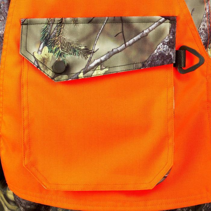 Vest Renfort 500 voor de jacht fluo camo - 837028
