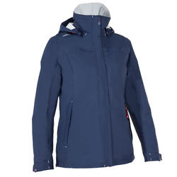Segeljacke warm 100 Damen marineblau