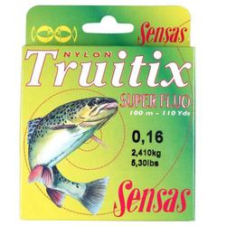 Vislijn roofvissen Truitix Super fluo 100 m