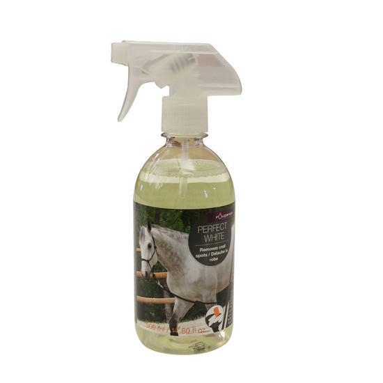 Ontvlekkerspray ruitersport paarden en pony's Perfect White 500 ml - 837756