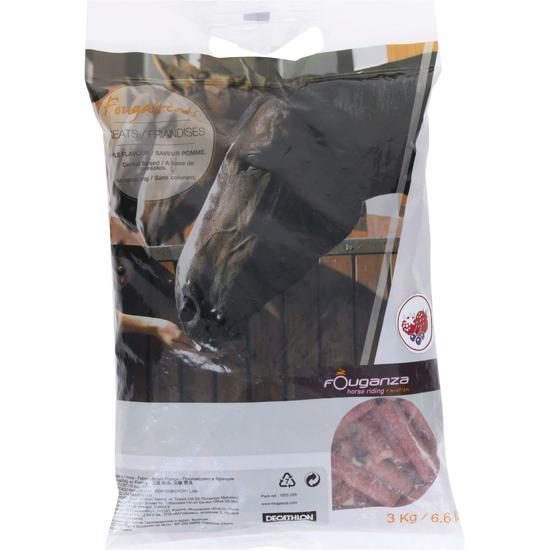 Paardensnoepjes Fougatreats appel 3kg - 837828