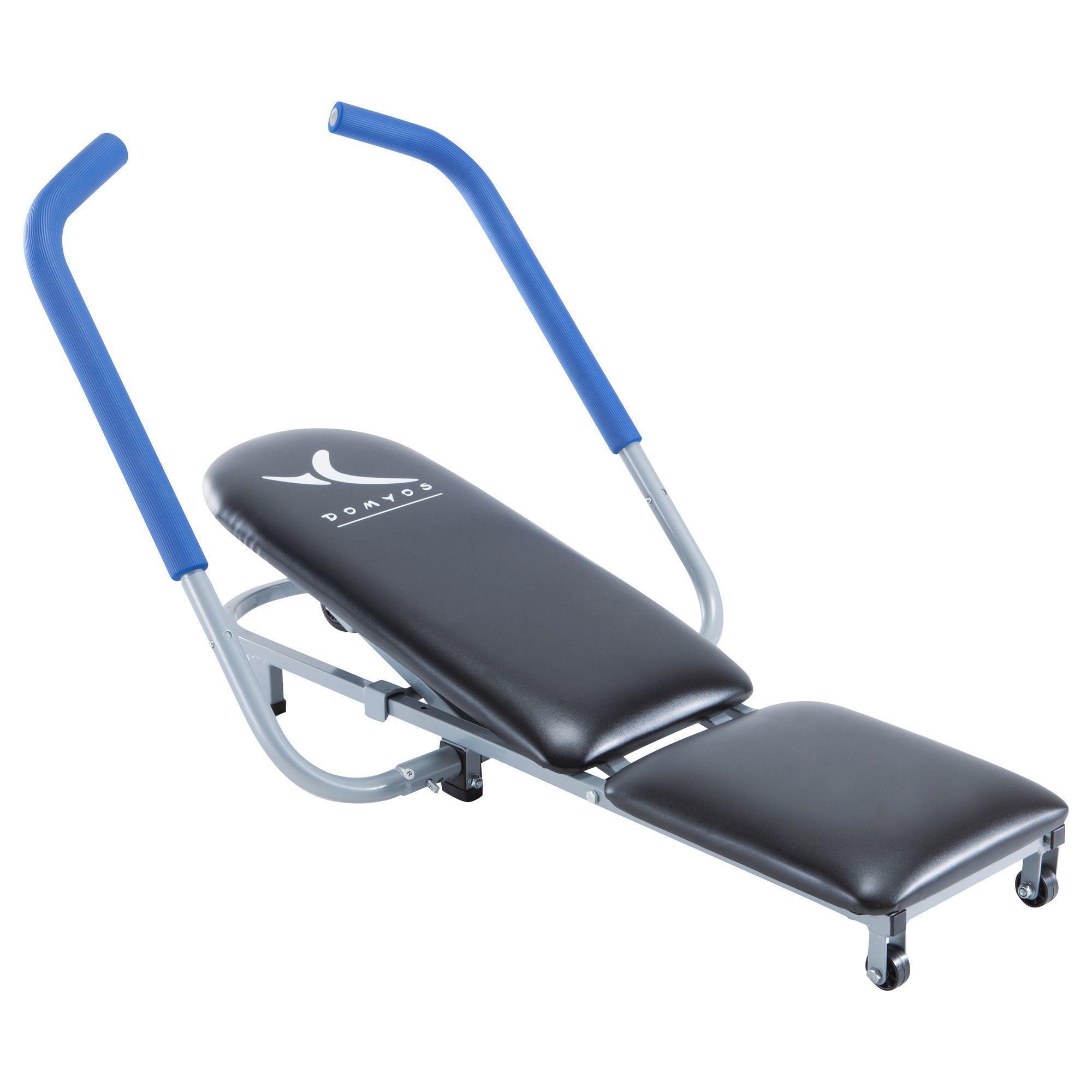 Appareil a abdominaux guide fitness ab 350 domyos by decathlon - Banc de musculation decathlon ...