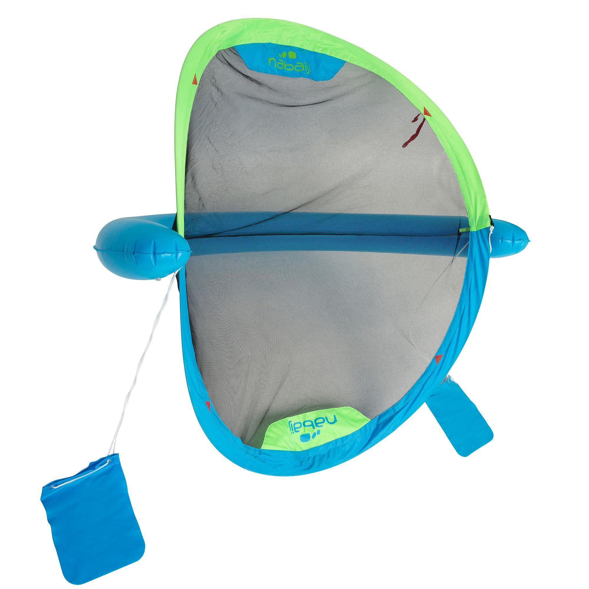Wasserball-Tor Polo Up blau grün | 03583788391616
